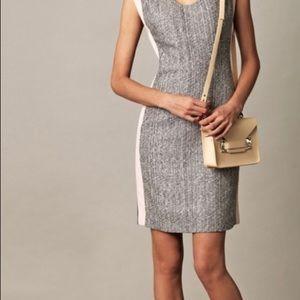 Diane Von Furstenburg Katherine tweed dress Sz 2